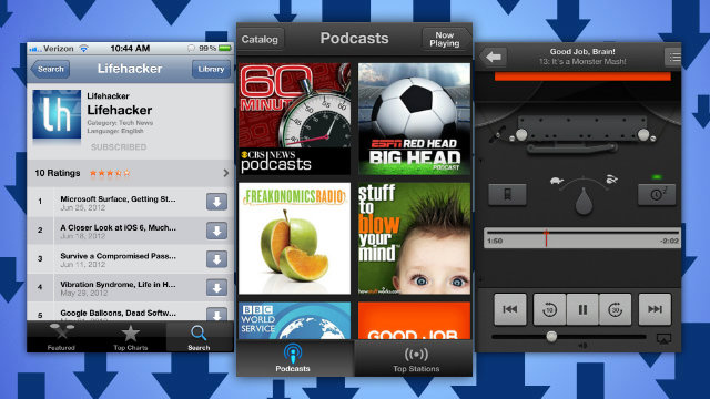 Apple's Official Podcast App Streams, Downloads, and Syncs iOS Podcasts with iTunes