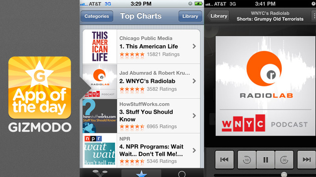 Podcasts: Apple's Standalone App Arrives Ahead of iOS 6