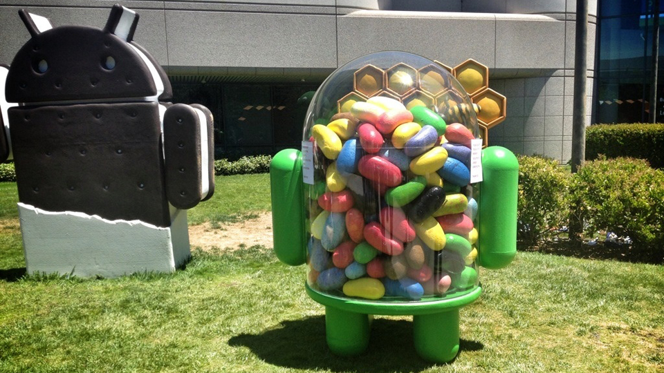 Click here to read This Is the New Android Jelly Bean Mascot—Just Installed at Google's Headquarters