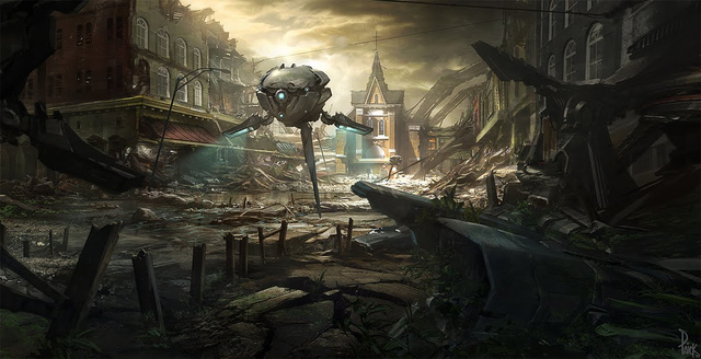 Concept Art From The Last of Us, Prey 2, Tomb Raider...
