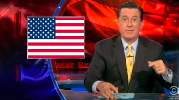 Click here to read Stephen Colbert Suggests Some More Ways Arizona Can Assert Its Rights