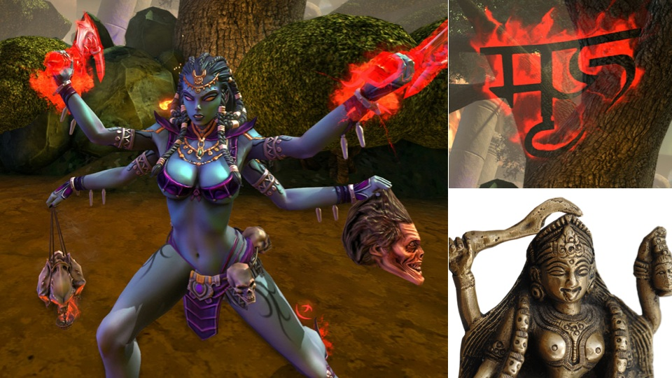"Click here to read Hindu Leader Says Controlling Goddess in Online Game Is ""Denigration"""