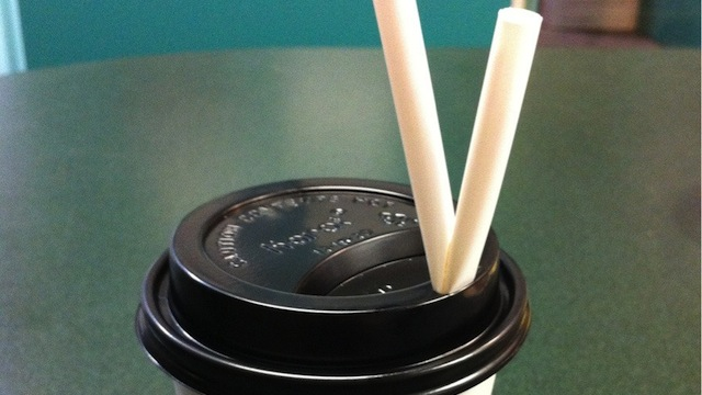 Click here to read Stuff a Folded Straw in Your Coffee Lid to Keep it From Spilling