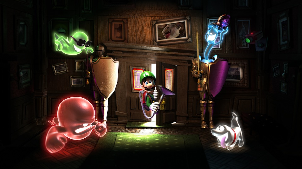 Click here to read Great, Official <em>Luigi's Mansion: Dark Moon</em> Artwork Justifies New <em>Luigi's Mansion: Dark Moon</em> Preview