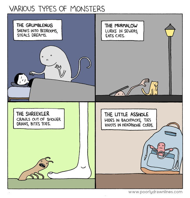 Click here to read The Little Asshole Is My Least Favorite Monster