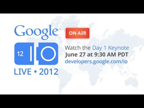 Click here to read Watch the Google I/O Keynote Here