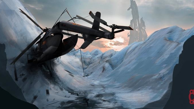 This Is Either Leaked Half Life 2: Episode 3 Concept Art, or Just Cool Half-Life Art