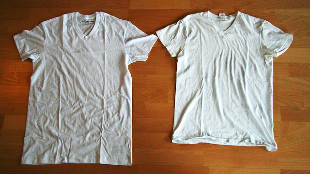 how to shrink a t shirt not as easy as once