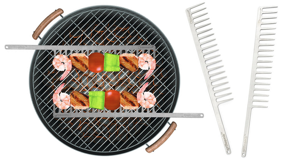 Brilliant Grilling Combs Just Made Shish Kebab Skewers Obsolete