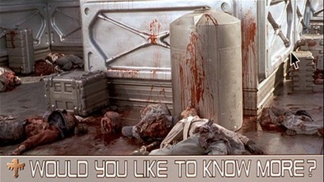What's the point of a less violent Starship Troopers?