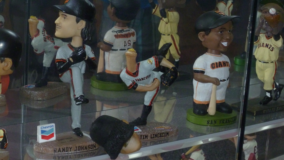 There's Some Tim Lincecum Voodoo Going On At The Marlins' Bobblehead Museum