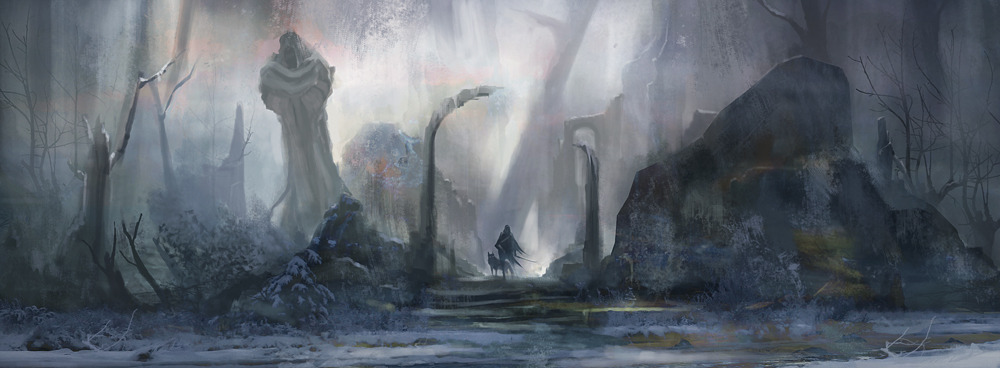 Fine Art Game Of Thrones Concept Banished To The Wall