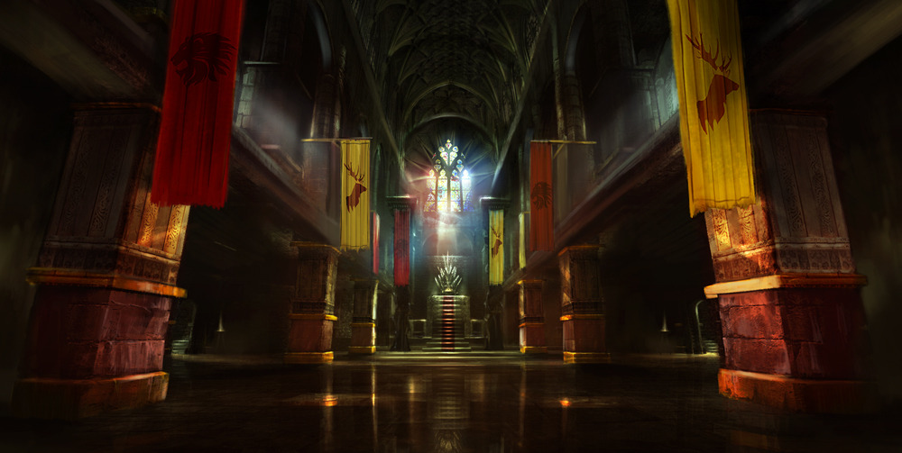 Dishonored  Throne Room Painting