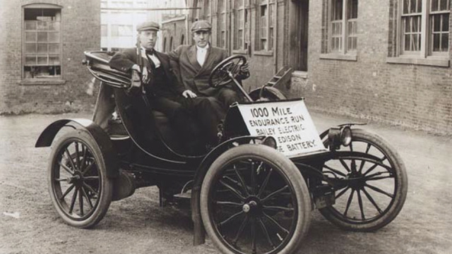 Thomas Edison's car battery is back, and it's better than ever