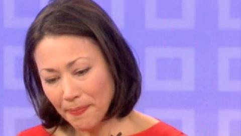 Click here to read Ann Curry's Teary Goodbye on <em>Today</em>: 'This Is Not How I Expected to Leave This Couch After 15 Years'