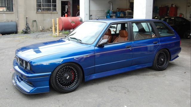 This Is The Only BMW E30 M3 Wagon In The World