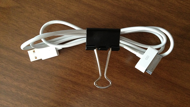 Click here to read Use Binder Clips to Neatly Wrap Up Cables or Headphones