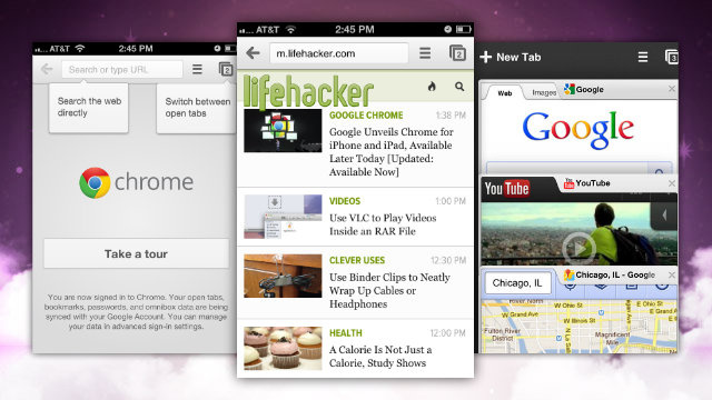 Google Unveils Chrome for iPhone and iPad, Available Later Today [Updated: Available Now]