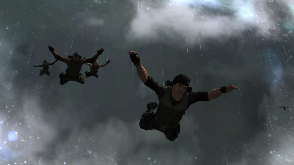 Sadly, <em>The Expendables 2</em> Video Game is Not Developed by Wright, Meier, Carmark and Garriott