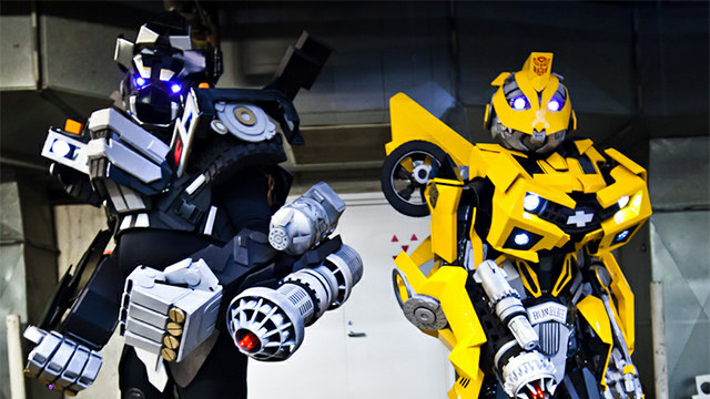 Click here to read Transformers Cosplay: Humans in Disguise