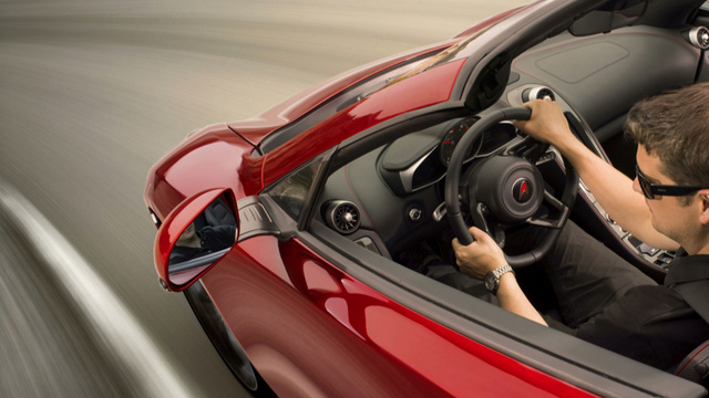 The McLaren 12C Spider Will Go 186 MPH With No Roof