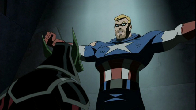 Captain America wields Mjolnir on The Avengers plus Jake & Finn save hostages on Adventure Time