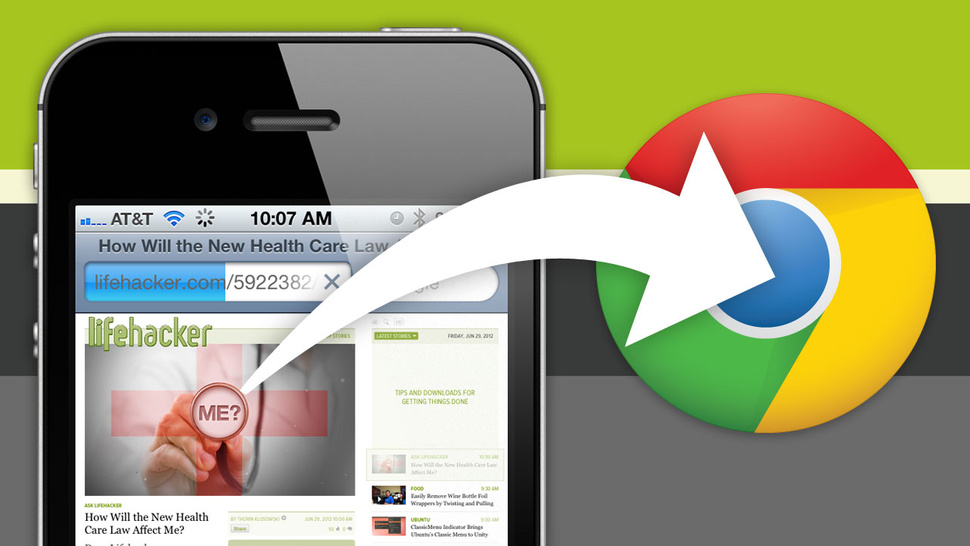 Open URLs in Chrome for iPhone Instead of Mobile Safari