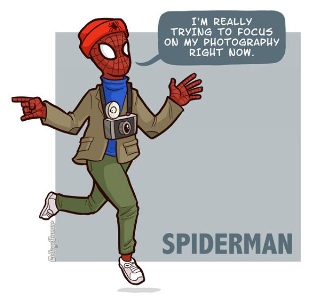 Cutest and Weirdest Spider-Man Fan Art!
