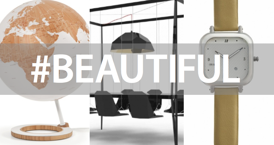 Beautiful Design: Swing Table, Bamboo Globe, And More