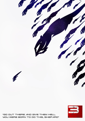 This Collection of Mass Effect Prints Makes For Fancy Wallpaper