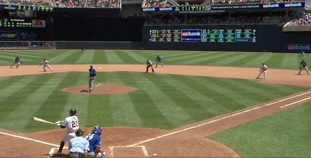The Royals Gave Up A Run On A Hit That Started Off Closer To The On-Deck Circle Than The Pitcher's Mound