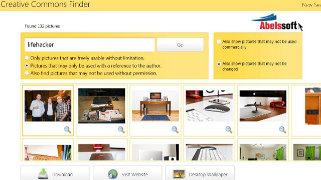 Click here to read CCFinder Simplifies Creative Commons Image Searches