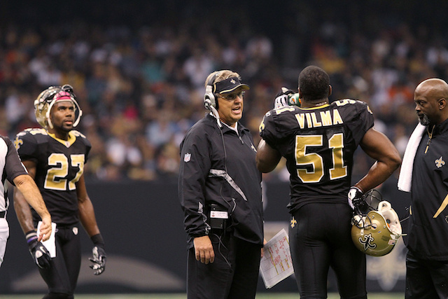 Jonathan Vilma Alleges Former Assistant Coach Fabricated Evidence In Bounty Probe In Newly Filed Lawsuit Against NFL