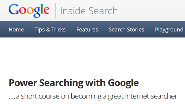 Click here to read Sign Up for Googles Power Searching Online Course to Boost Your Google-Fu