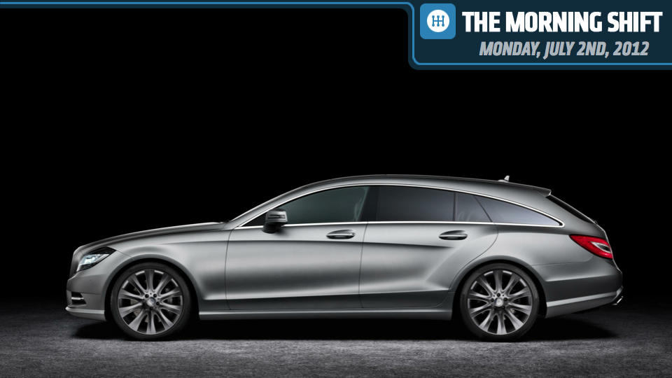 Mercedes CLS Shooting Brake, Audi Sunroofs Break And Holden Some Parts Thieves - Jalopnik