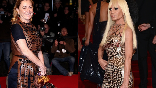 Donatella Versace Says Feminism Is Dead