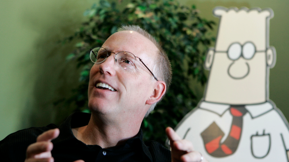 The Creator of <em>Dilbert</em>, the World's Greatest Genius, Has Had Another Brilliant Thought