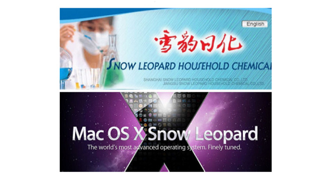 In China, Apple Is Being Sued Over the Snow Leopard Name