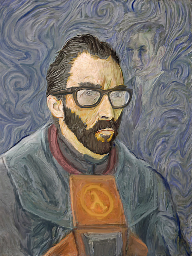 Please Gordon Freeman, Do Not Cut Off Your Ear