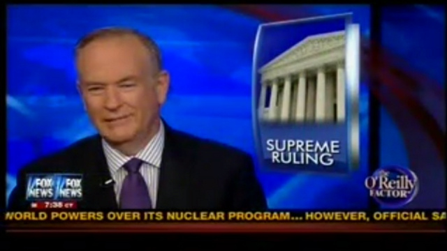 Bill O'Reilly Kinda Sorta Apologizes for Being an Idiot But Not Really