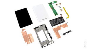 Google Nexus 7 Dissection Reveals Guts, Retina MacBook RAM and No Gorilla Glass