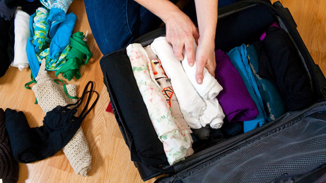 pack for holiday
