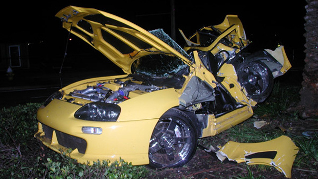 Celebrity driving accidents
