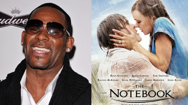 R. Kelly Claims The Notebook Sparked His Divorce