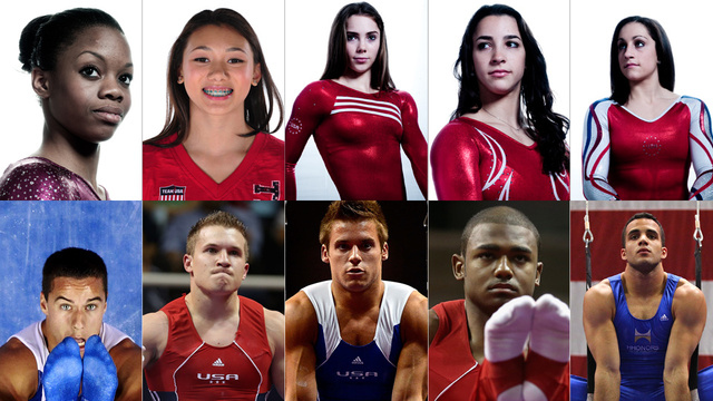 Meet Your Gold-Medal-Favorite 2012 U.S. Olympic Gymnastic Team (And The Men, Too)