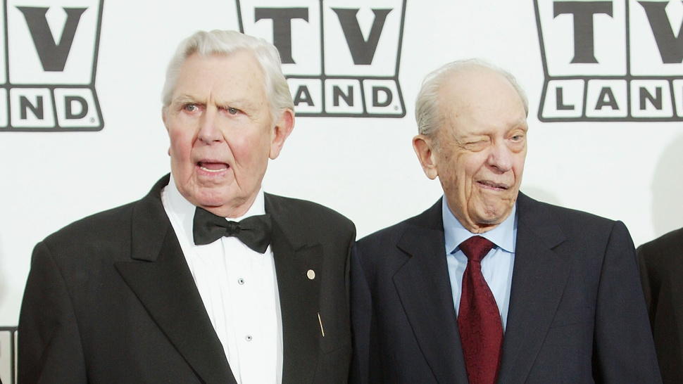 Hollywood Weeps for Andy Griffith, America's Grandpa
