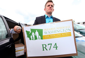 medium Washington States Conservatives Try to Pass Two Separate Anti Gay Marriage Initiatives, Fail [The Gays]