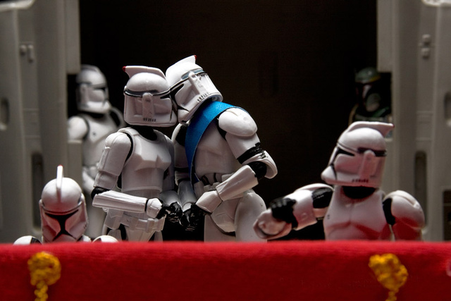 Famous Pictures Recreated With Star Wars Figures