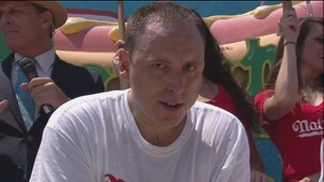 Joey Chestnut Downs 68 Hot Dogs To Win Sixth Straight Nathan's Hot Dog Eating Contest