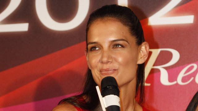 Katie Holmes Speaks Publicly for the First Time Since Filing for Divorce